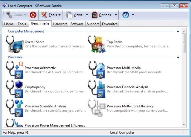 sisoftware sandra 3